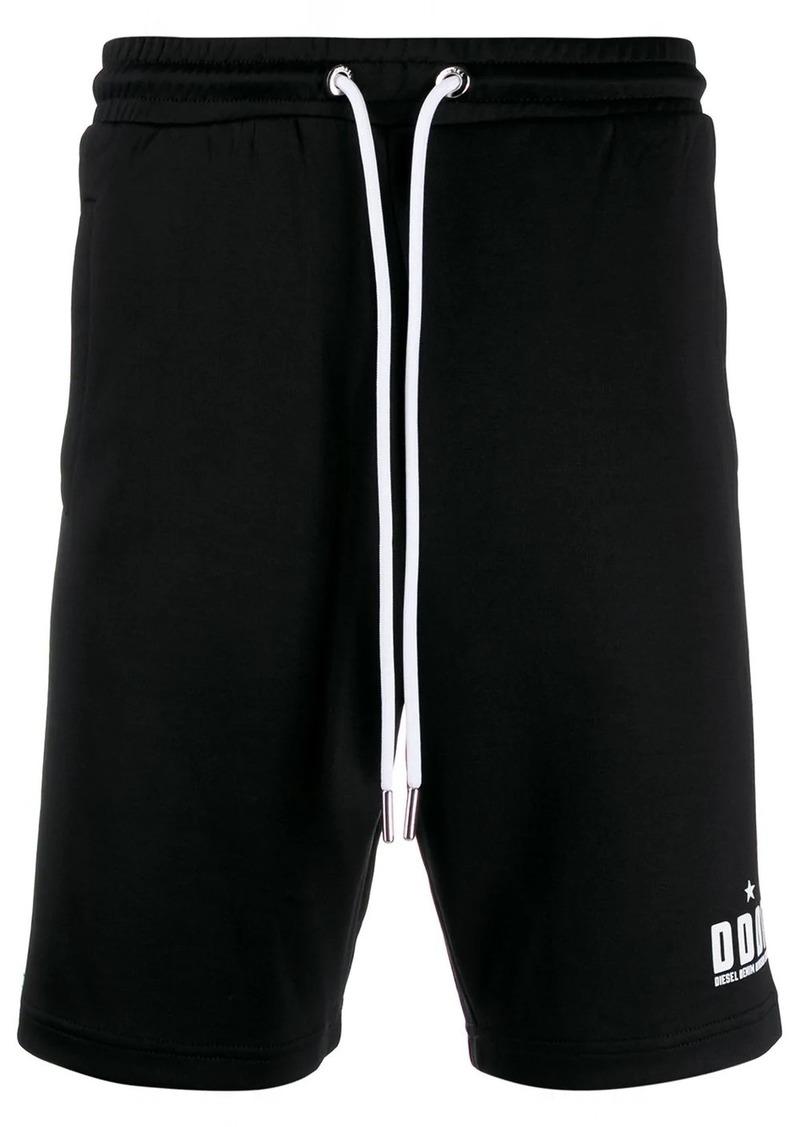 Diesel elasticated-waist track shorts