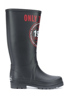 Diesel printed welly boots