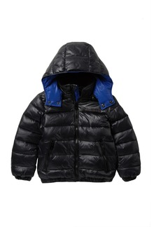 Diesel Quilted Nylon Puffer Jacket (Toddler Boys)