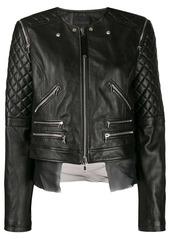 Diesel quilted sleeves jacket