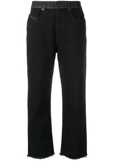 Diesel raw cropped jeans