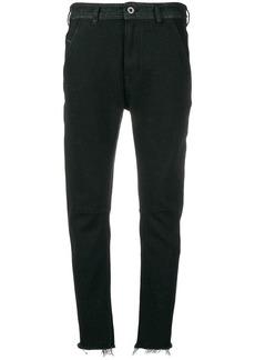 Diesel raw edge jeans