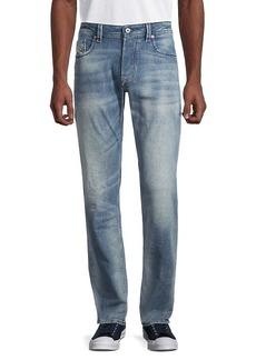 Diesel Regular Straight-Fit Faded Jeans