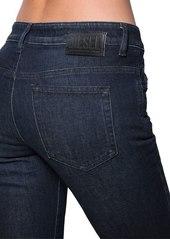 Diesel Rifty Mid Rise Slim Stretch Denim Jeans