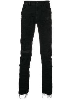 Diesel ripped jeans