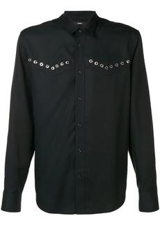 Diesel rivet detail shirt