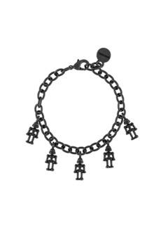 Diesel robot charm bracelet