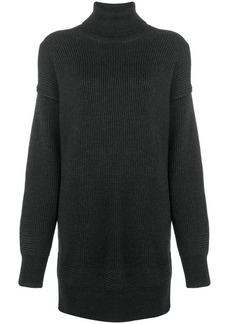 Diesel roll neck jumper dress