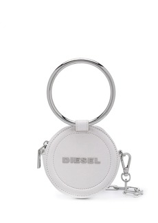 Diesel round chain wallet