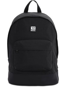 Diesel Rubber Patch Logo Nylon Backpack