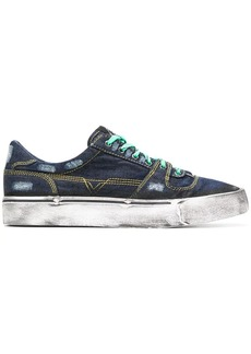Diesel S-Flip Low denim sneakers