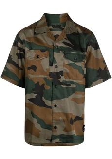 Diesel S-Wolf-Camu camouflage-print shirt