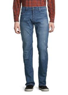 Diesel Safado Distressed Slim Straight Jeans