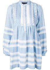 Diesel short dress with jacquard pattern