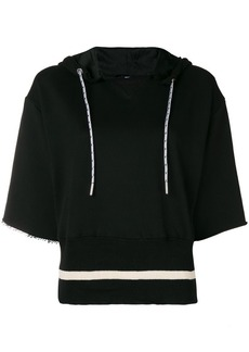 Diesel short-sleeve hooded top