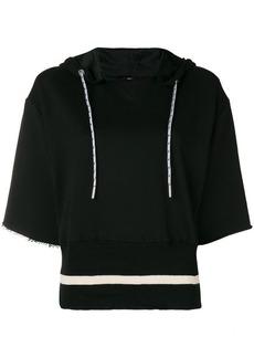 Diesel short-sleeve hooded top