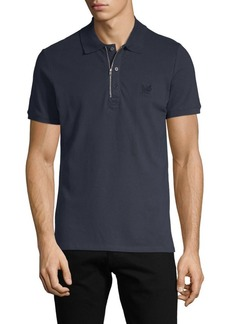 Diesel Short-Sleeve Stretch-Cotton Polo