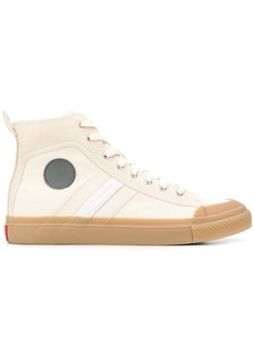 Diesel side patch sneakers