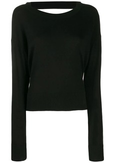 Diesel side-slit sweater