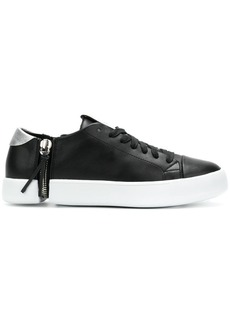 Diesel side zip sneakers