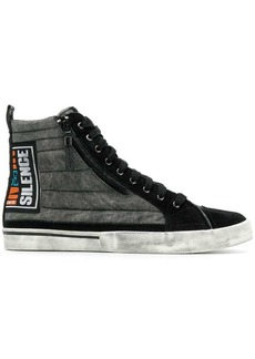 Diesel Silence patch sneakers