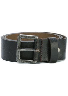 Diesel silver-tone buckle belt