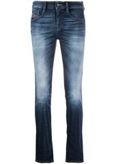 Diesel skinny stonewashed jeans