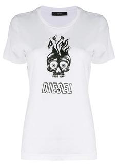 Diesel skull print T-shirt