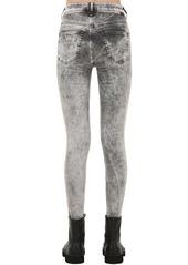 Diesel Slandy High Rise Skinny Denim Jeans
