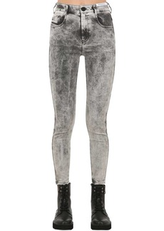 Diesel Slandy High Rise Skinny Denim Jeans