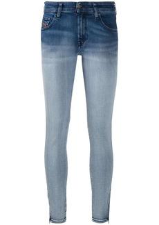 Diesel Slandy Super Skinny low-rise jeans