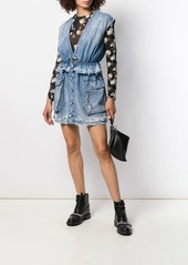 Diesel sleeveless denim mini dress