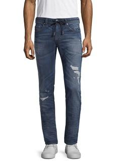 Diesel Slim-Fit Distressed Jeans