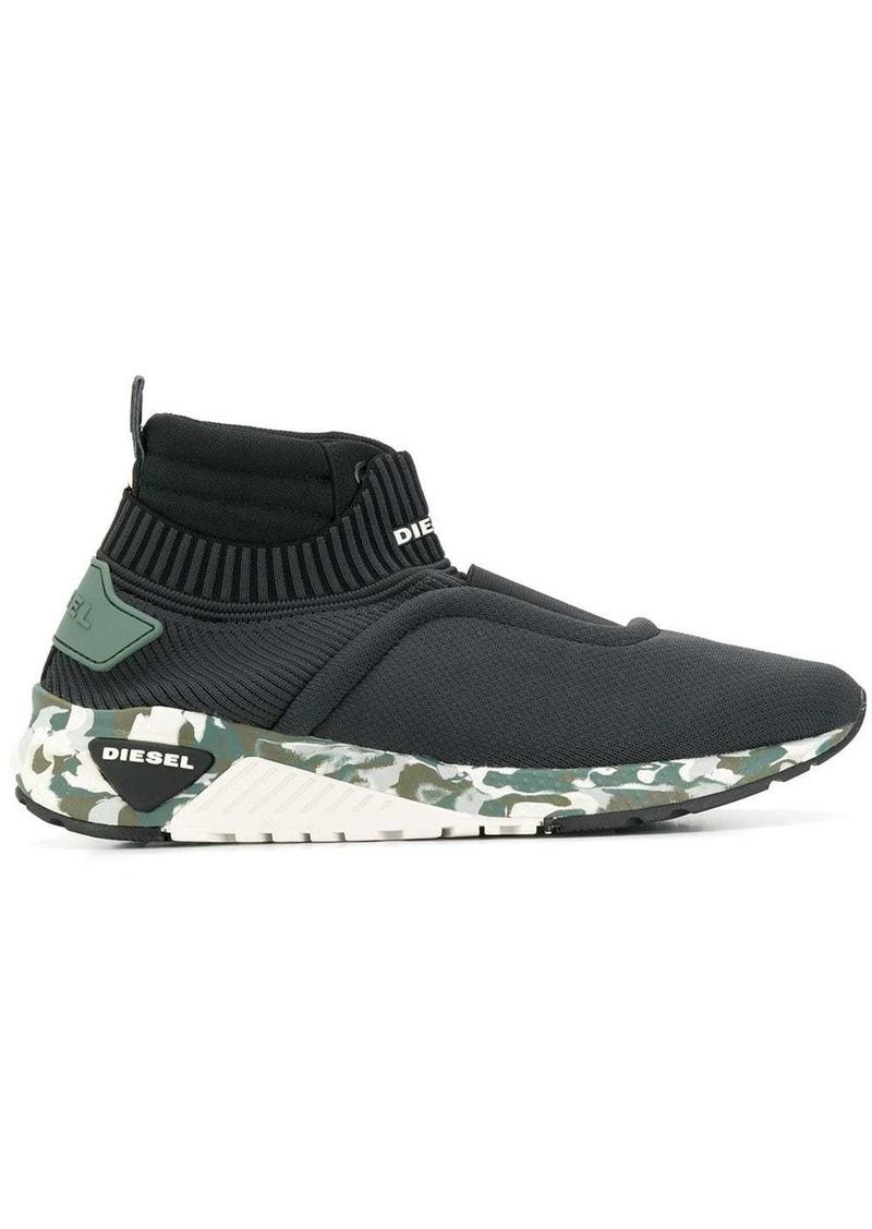 Diesel sock-style low top sneakers
