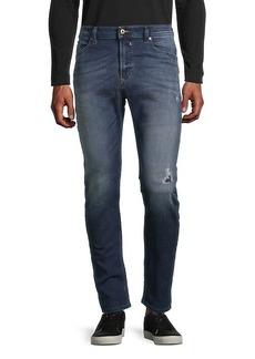 Diesel Spender Distressed Skinny Jeans