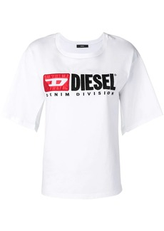 Diesel split-sleeve logo T-shirt