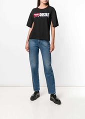 Diesel split sleeve T-shirt