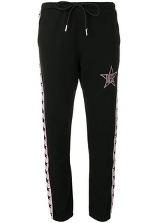 Diesel star logo track pants