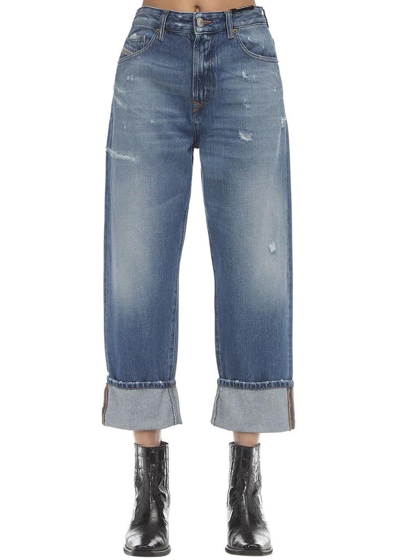 Diesel Stone Wash Straight Jeans