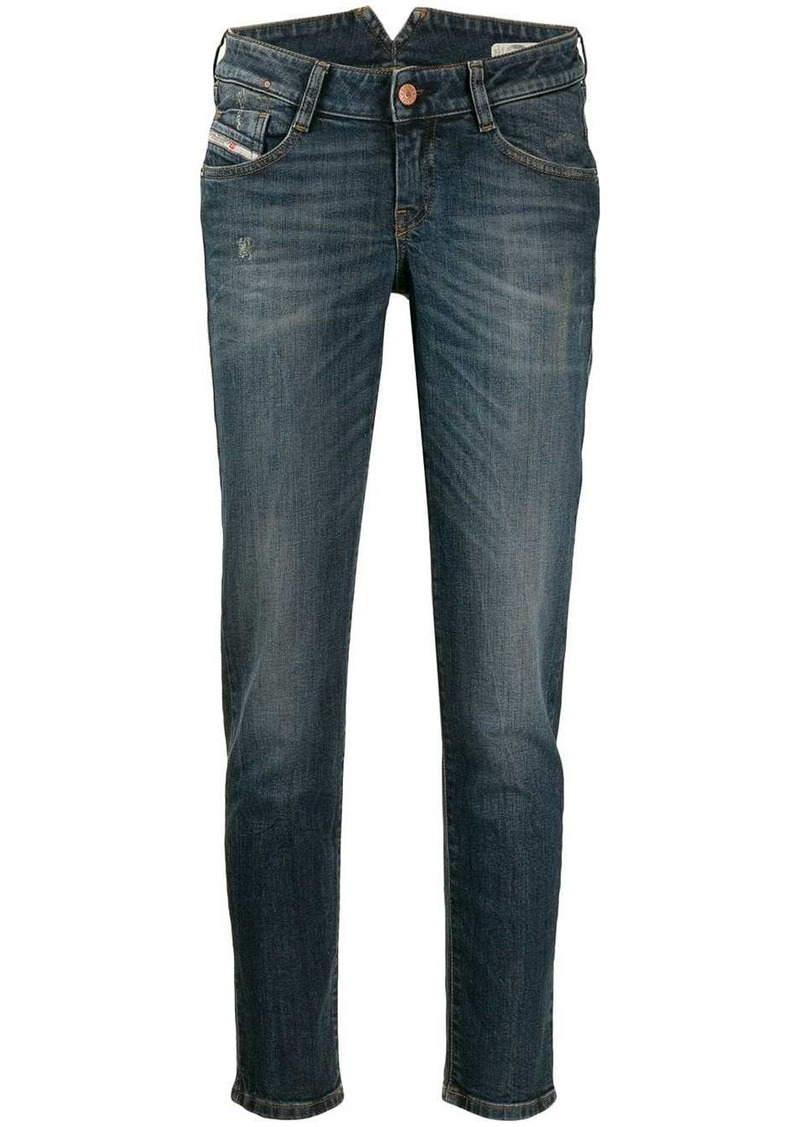 Diesel stonewashed boyfriend jeans