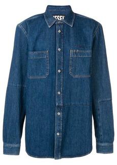 Diesel stonewashed denim shirt