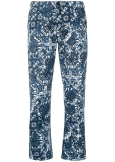 Diesel straight jeans with printed pattern