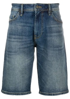 Diesel straight-leg denim shorts