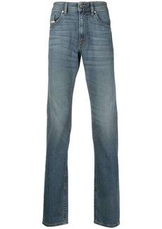 Diesel straight-leg light wash jeans