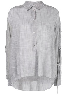 Diesel stripe detail shirt