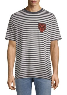 Diesel Stripe Graphic T-Shirt