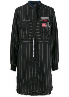 Diesel striped print dress