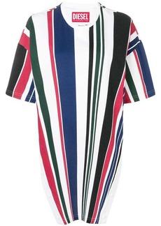 Diesel striped tunic T-shirt