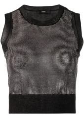 Diesel Stud cropped top