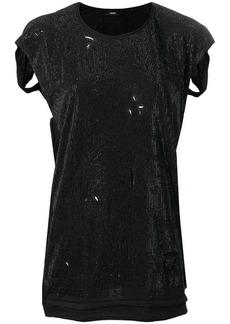 Diesel stud-embellished blouse